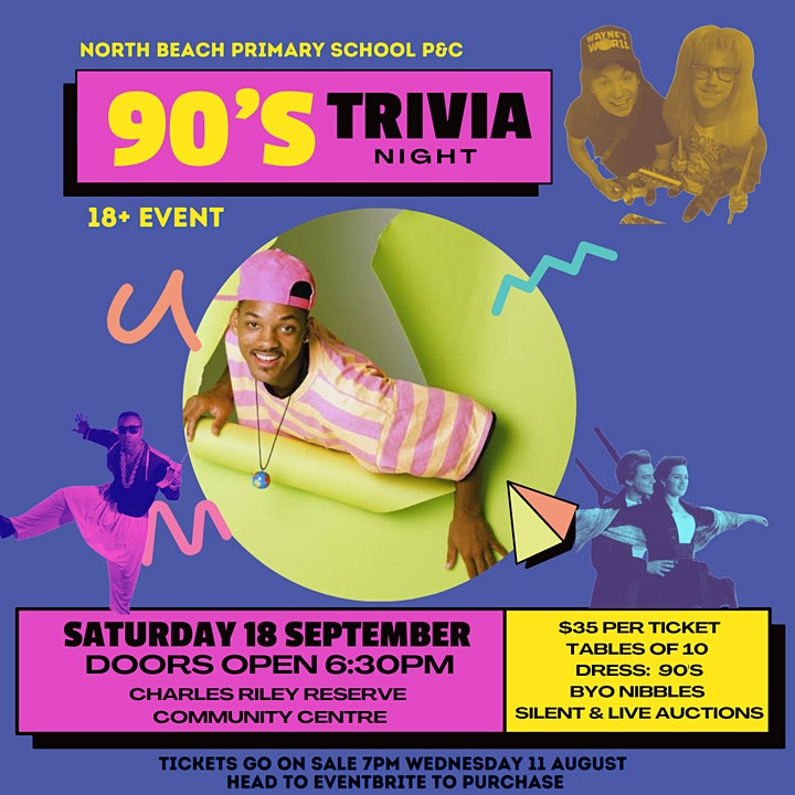 North Beach Primary School 90's Trivia Night image