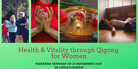 Health & Vitality through Qigong for Women tickets