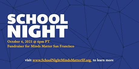 School Night: A Virtual Dinner Fundraiser (for General Admission) tickets