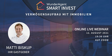 Live Webinar : Vermögensaufbau mit Immobilien billets