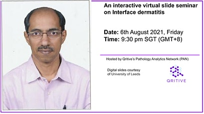 An interactive virtual slide seminar on Interface Dermatitis tickets