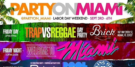 Party On Miami Weekend 7 Parties Featuring Seafair Yacht & KOD Pool Party tickets