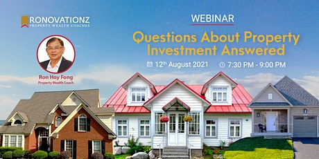 Questions About Property Investment Answered tickets