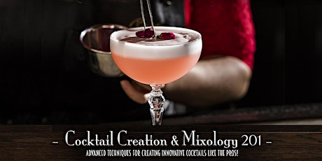 The Roosevelt Room's Master Class Series - Cocktail Creation & Mixology 201 tickets