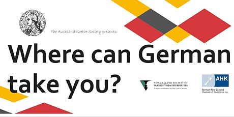 Where can German take you? Careers, Internships and Other Opportunities tickets