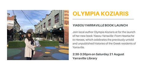 Book Launch: Olympia Koziaris tickets