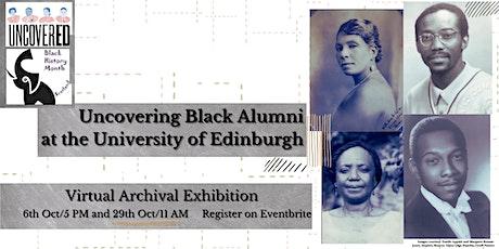 Uncovering Black Alumni at the University of Edinburgh tickets