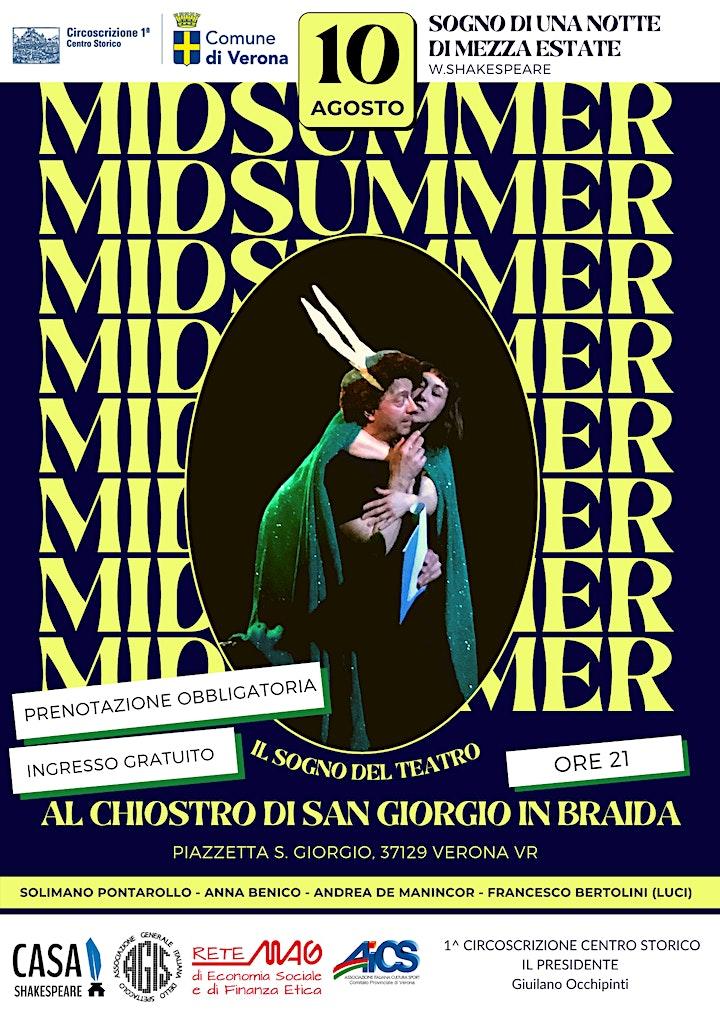 Immagine MIDSUMMER, IL SOGNO DEL TEATRO - PRIMA CIRCOSCRIZIONE