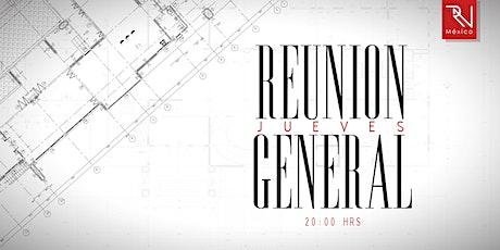 Reunión Jueves 05.08.21 boletos