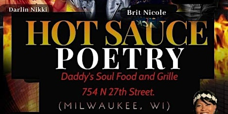 HOT SAUCE POETRY MILWAUKEE, WI tickets