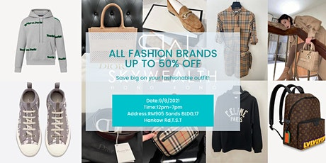 Fashion brands SALE show up to 50% off 時尚品牌特賣會低至半價 tickets