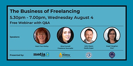 The Business of Freelancing tickets