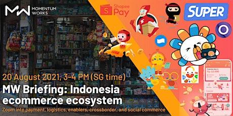 MW Briefing: Indonesia ecommerce ecosystem entradas