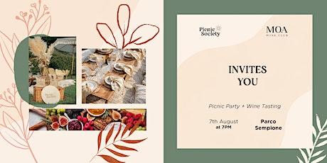 Picnic Party + Wine Tasting biglietti