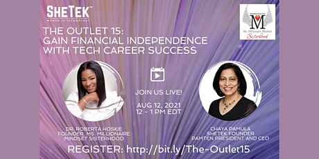 The Outlet 15: Gain Financial Independence with Tech Career Success tickets