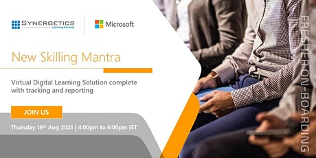 """New Skilling Mantra   A Complete """"Onboarding Solution"""" for Fresh Talents Tickets"""