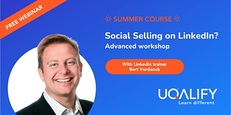 Social Selling on LinkedIn? Advanced free webinar! tickets