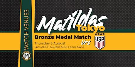 Canberra Matildas Active Watch Party - Bronze Medal Match tickets