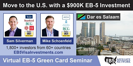 U.S. Green Card Virtual Seminar – Dar es Salaam, Tanzania tickets