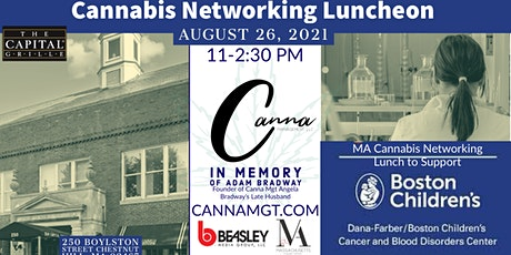 Cannabis Networking Lunch to Benefit Boston Children's Hospital tickets