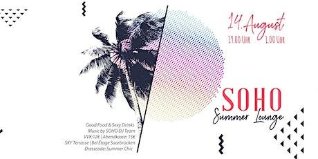 SOHO Summer Lounge - Part 3 billets