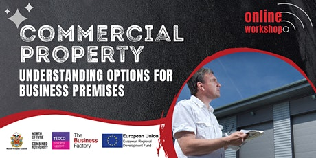 Commercial Property (Understanding options for business premises)- 12pm tickets
