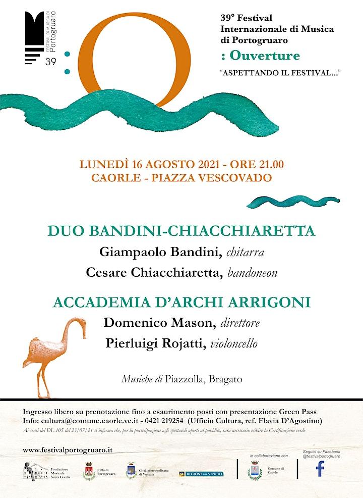 Immagine CONCERTO PER CHITARRA E BANDONEON  - VIOLONCELLO SOLO E ORCHESTRA D'ARCHI