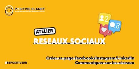 Atelier communication : réseaux sociaux billets