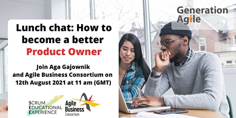 Lunch Chat for Young Professionals: How to become a better Product Owner tickets