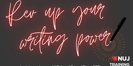 Rev up your writing power (2 x 3.5 hour online workshops) tickets