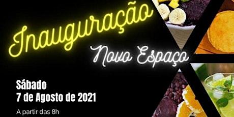 Inauguração Lanchonete Iguarias Divinas bilhetes
