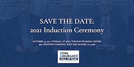 IIHOF Induction Ceremony 2021 tickets