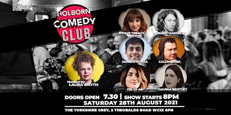 Holborn Comedy Club tickets