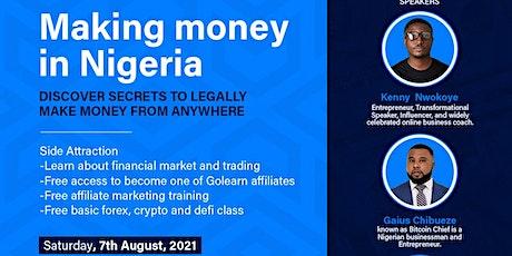 GoLearn Making Money in Nigeria Webinar tickets