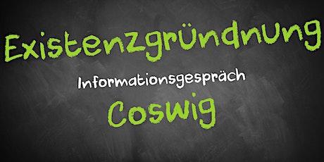 Existenzgründung Online kostenfrei - Infos - AVGS Coswig Tickets