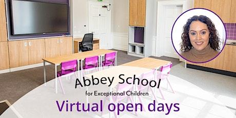 Abbey School - Virtual  Open Day tickets