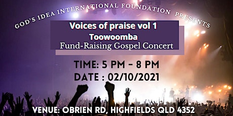 Voices of Praise Toowoomba Vol 1 tickets