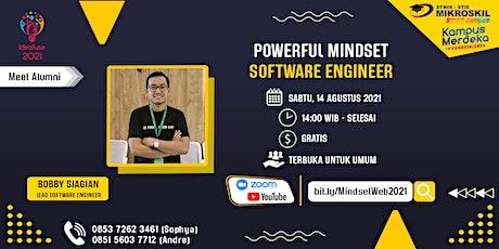 Meet Alumni : Powerful Mindset Software Engineer tickets