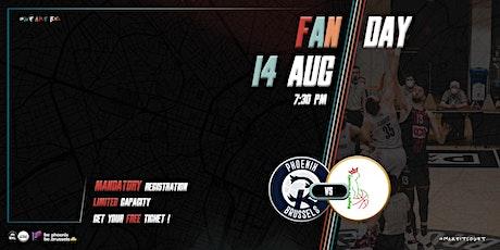 Phoenix Brussels - Fan Day - GAME vs ROYAL IV Brussels tickets