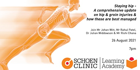 Staying hip - A comprehensive update on hip & groin injuries tickets