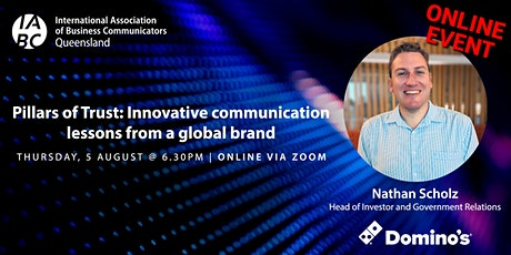 Pillars of Trust: Innovative communication lessons from a global brand tickets