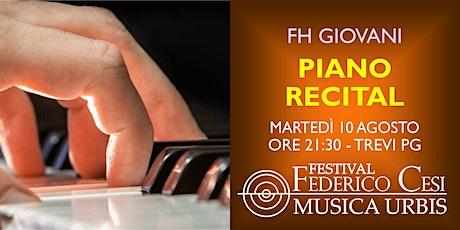Piano Recital biglietti