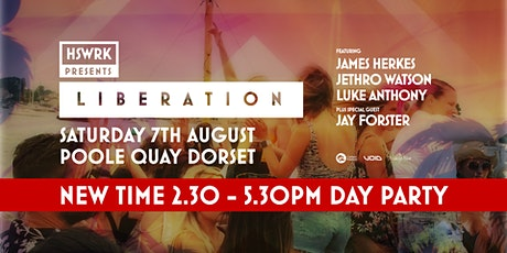 HSWRK - LIBERATION Boat Party tickets