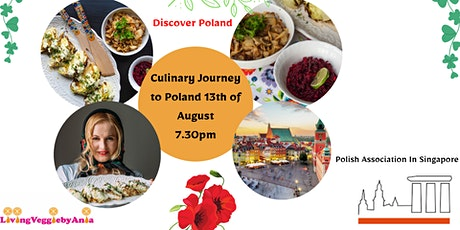 Food Tour around Poland with 6-course Plant Based Meal Delivery tickets