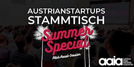 AustrianStartups Open Air Stammtisch #96: Summer Special  X aaia Tickets
