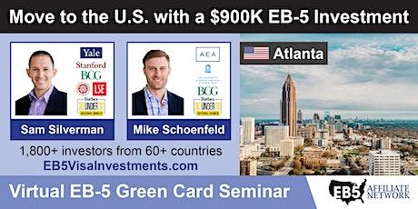 U.S. Green Card Virtual Seminar – Atlanta, USA tickets