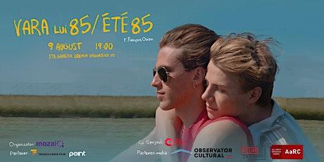 """Vara lui 85"" / ""Été 85""(r. François Ozon) tickets"