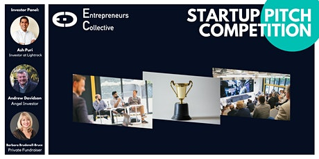 Startup Pitch Competition & Networking with & Angel Investors - August tickets