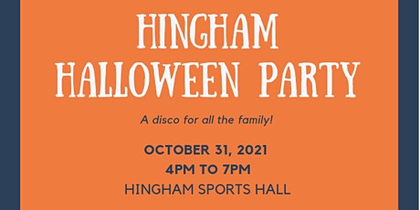 Hingham Halloween Party tickets