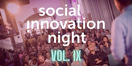 Social Innovation Night Vol. IX Tickets